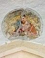 Brückl Pfarrkirche hl. Johannes der Täufer W-Portal Supraporte Fresko 19062017 5215.jpg