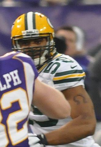 Brad Jones (American football) - Jones with the Packers in 2012
