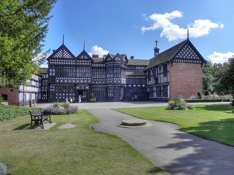 File:Bramall Hall from west, 2011.jpg