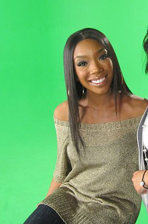 Brandy discography - Brandy on the set of Brandy & Ray J: A Family Business in 2011.