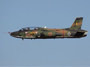 Brazilian Air Force - Embraer AT-26 Xavante, withdrawn from service in 2010.