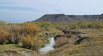 Brazos River - Image: Brazos Double Mtn Fork 2009