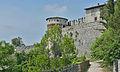 Brescia Castello fortificazioni e torre dei prigionieri.jpg