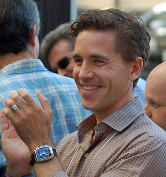 Brian Dietzen - Dietzen at the Hollywood Walk of Fame in October 2012