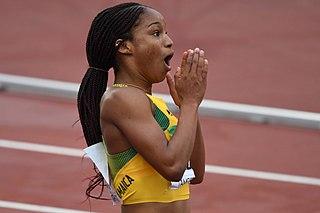 Briana Williams American-born Jamaican female sprinter (born 2002)