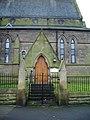 Bridge House (St Luke's Church), Porch - geograph.org.uk - 671616.jpg