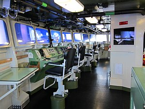 Bridge of Hr Ms De Ruyter.JPG