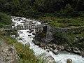 Bridge on the Pindari river near Dwali, Uttarakhand, India.jpg
