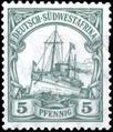 Briefmarke DSWA 5 Pfennige.png