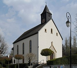 The church in Brinckheim