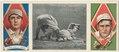 Briscoe Lord-R. N. Oldring, Philadelphia Athletics, baseball card portrait LCCN2008678546.tif