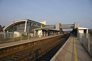 Bristol Parkway railway station Major railway station in Bristol, England