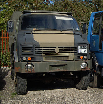Dodge 50 Series - 4x4 Reynolds Boughton RB44 of the British Army