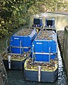British Waterways workboats moored at lock 23, Grand Union Canal - geograph.org.uk - 1556330.jpg