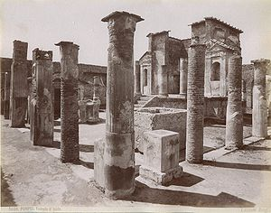 Temple of Isis (Pompeii) - The Temple of Isis in Pompeii