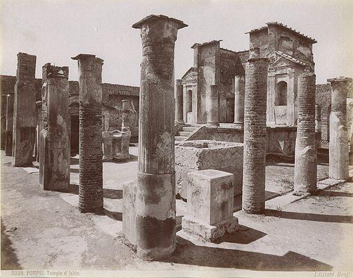Brogi, Giacomo (1822-1881) - Pompei - Tempio d'Iside - n. 5038 - ca. 1870
