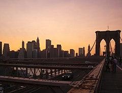 布魯克林大橋,纽约