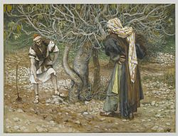 James Tissot: The Vine Dresser and the Fig Tree