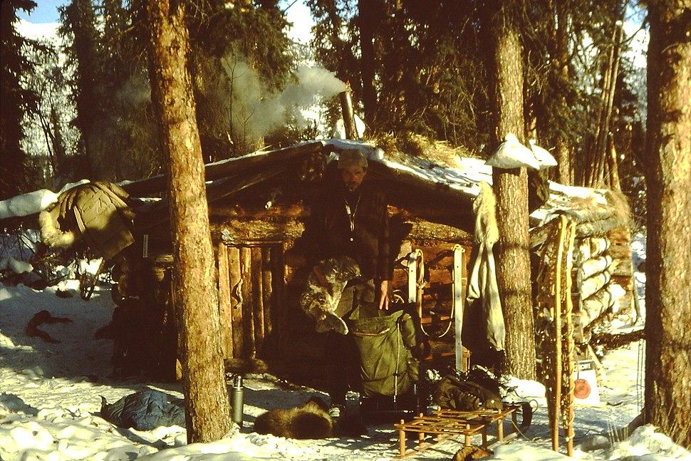Brooks Range (29) Trapper's cabin