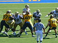 Bruins on offense at UCLA at Cal 2010-10-09 11.JPG