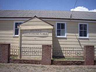 Brungle, New South Wales - Brungle Memorial Hall