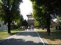 Bucuresti, Romania. PALATUL BRANCOVENESC de la MOGOSOAIA. (Turnul de paza de la poarta)(IF-II-a-A-15298).jpg