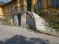 Buda Arboreta. Upper garden. Building 'F', stairs. - Budapest District IX.JPG