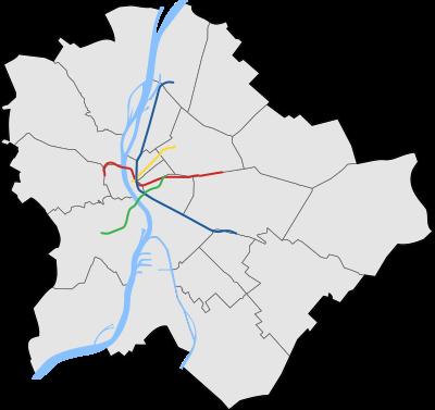 budapest térkép metró Sablon:Pozíciós térkép Budapest/metró – Wikipédia budapest térkép metró