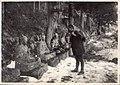 Buddhas or Jizo sitting statues in the snow of Japan (1912 by Elstner Hilton).jpg
