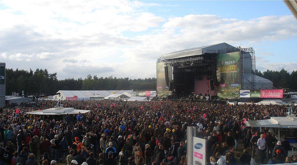Hurricane festival palco