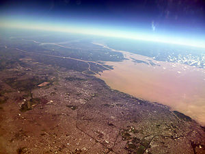 Río de la Plata - The city of Buenos Aires sits along the southern coast of the Río de la Plata.