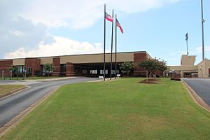 Buford High School - Image: Buford High School, July 2016