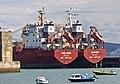 Bulk carriers Seleina and Sarine in Portland Harbour-9438.jpg