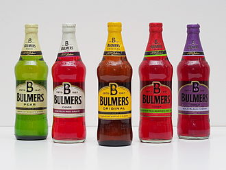 H. P. Bulmer - Sample set of Bulmers ciders