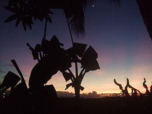 Bunawan, Agusan del Sur - Sunset in Bunawan