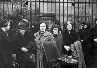 Kristallnacht - Polish Jews expelled from Germany in late October 1938