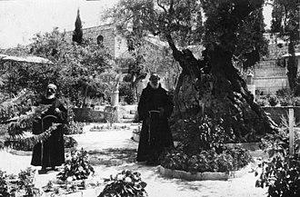 Gethsemane - Garden of Gethsemane, 1914