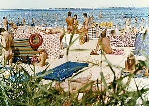 Freikörperkultur - East German nude beach at the Bay of Wismar, 1984