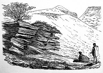 Asbestos Mountains - Rocks in the Asbestos Mountains by William Burchell