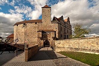 Cadolzburg - castle garden
