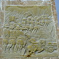 Burg Reichenstein - Epitaph Haym 3f Obelisk rechts Türkenschlacht.jpg