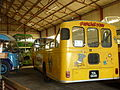 Buses inside the iow bus museum.JPG