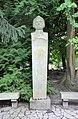 Bust of Adam Mickiewicz in Adam Mickiewicz Park, Oliwa (01).jpg