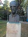 Bust of Pal Csonka by Gyongyi Szathmary, 2016 Ujbuda.jpg