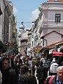 Busy Ferhadija street, Sarajevo.JPG