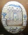 C.sf., pavia, sirio antonio africa (attr.), piastre ellittiche ad architettura, 1675-1710 circa 04.JPG