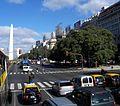 CABA - San Nicolás - Avenida 9 de Julio con el Obelisco de fondo.jpg