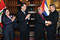 """CANCILLER RAFAEL RONCAGLIOLO CONDECORÓ CON LA ORDEL """"EL SOL DEL PERÚ"""" A EMBAJADOR DE CUBA (6052567725).jpg"""