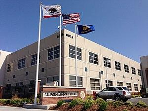 California Highway Patrol - California Highway Patrol Headquarters in Sacramento, CA.