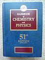 CRC Handbook of Chemistry and Physics 51st.JPG